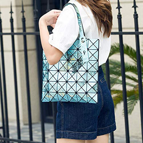 Borsa Blu One A Da colore Grande Donna Blu Tracolla Daypack In Pu Di Dimensioni Size Capacità arwaZq