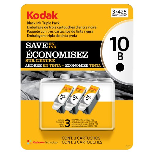 Kodak 10 Series Black Ink Cartridge – 3 Pack