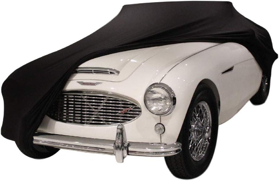 Housse Cabriolet Voiture DE Sport B/ÂCHE Auto Garage Star Cover Housse INT/ÉRIEUR Compatible avec Austin-Healey 100 Oldtimer LIVR/É Rapide Noir Housse