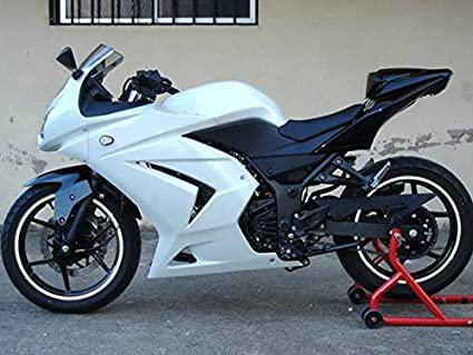 Amazon.com: Moto Onfire ABS Injection Fairings Kits with ...
