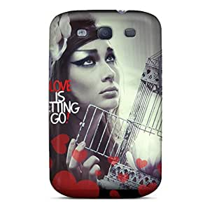 Galaxy S3 Case Slim [ultra Fit] Love Protective Case Cover