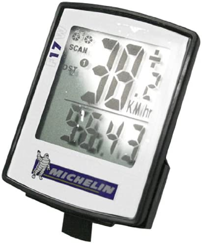 17 Function Michelin Wireless Ultra Slim Cycle Trip Computer