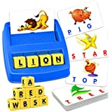 ATOPDREAM TOPTOY Matching Letter Game for Kids - Best Gifts Educational Toys