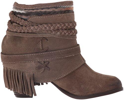 Boot Women's Naughty Baggin Taupe Monkey Saddle 5HwIqpw