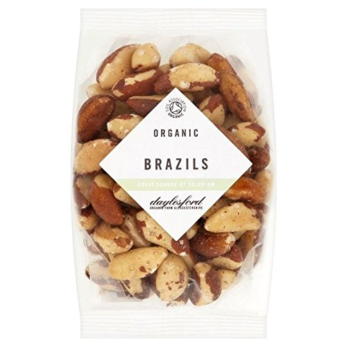Daylesford Organic Brazil Nuts 250g - Pack of 6 by Daylesford
