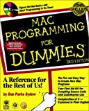 Mac Programming for Dummies, Dan Parks Sydow, 0764505440
