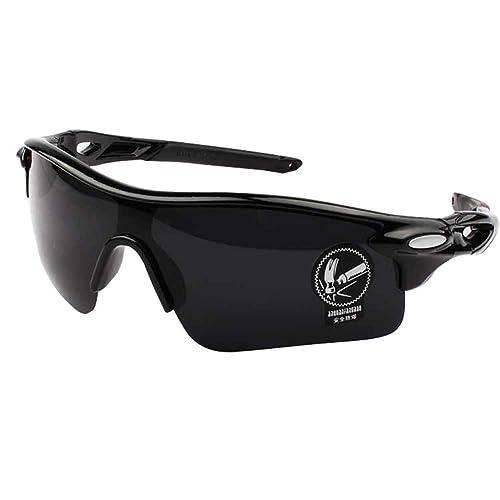 Aloiness Men's Outdoor Sunglasses Polarized Glasses Sports Eyewear Fishing Golf Goggles