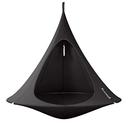 Double Cacoon Hammock: Black