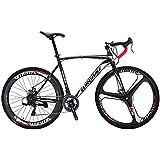 EUROBIKE Road Bike XC550 21 Speed 49 cm /54 cm Frame 700C Wheels Road Bicycle Dual Disc Brake Bicycle