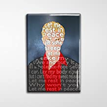 "Spike Buffy BTVS Decorative Art Magnet - 2x3"""