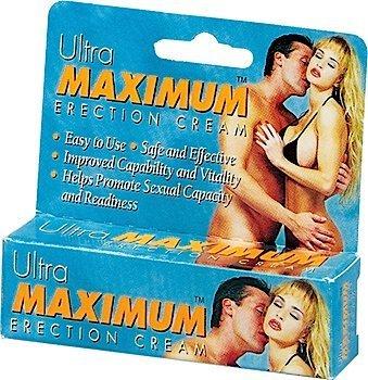 Crème Ultra érection maximale