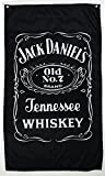 jack daniel's flag jack daniels banner jack daniel's happy hour flag jack daniel's whiskey banner--polyster flags,Brass Grommets ,Anti-UV,Digital Printing--flags 3 X 5 Ft