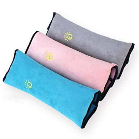 Amazon.com: 2 pcs niños bebé suave reposacabezas almohada de ...