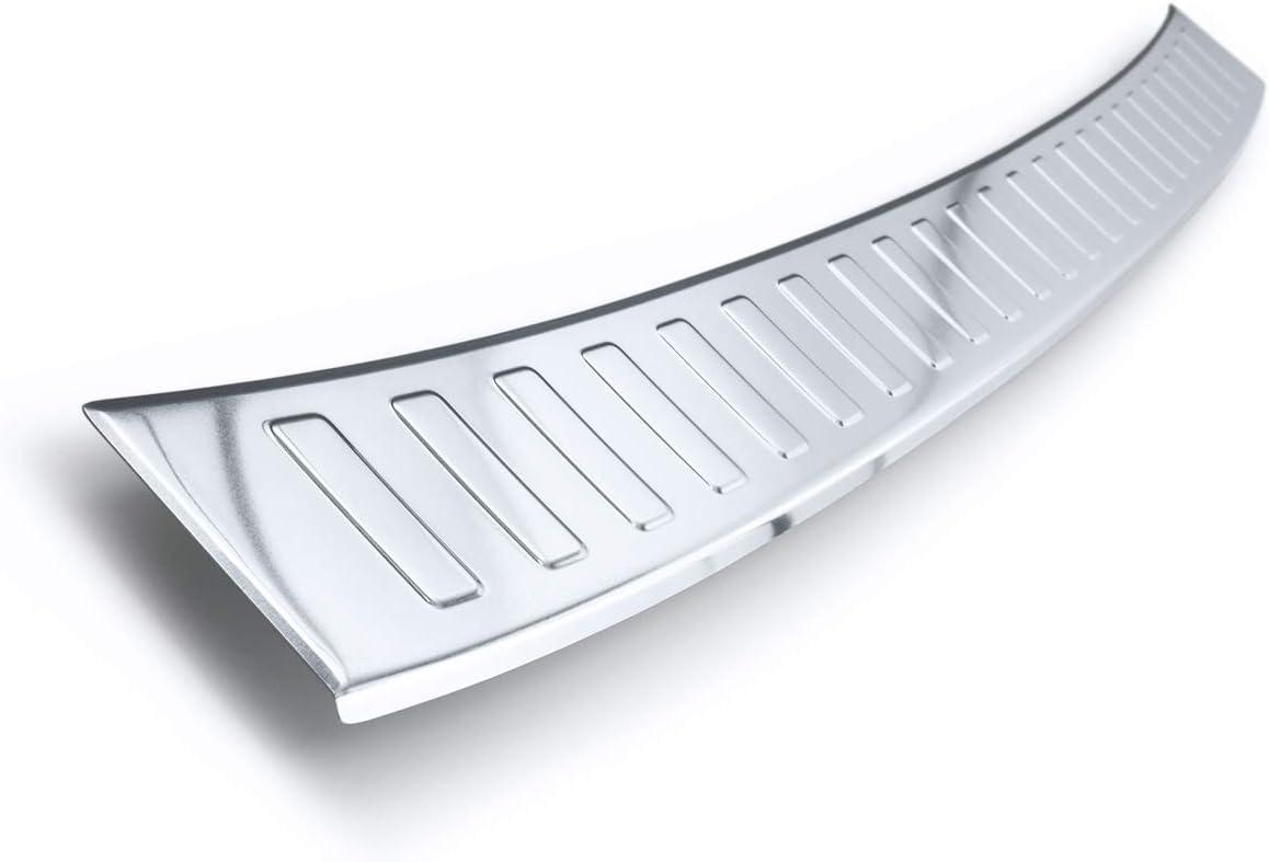 Teileplus24 Al127 Ladekantenschutz Für Peugeot Traveller Aluminium Farbe Silber Auto