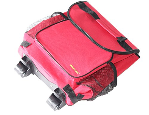 dbest products Ultra Compact Smart Cart,Red Insulated Cooler by dbest products (Image #4)