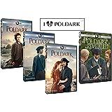 Poldark Ultimate Gift Set: Complete Seasons 1 thru 3 + Poldark Revealed + Bonus Sticker (10 DVDs)