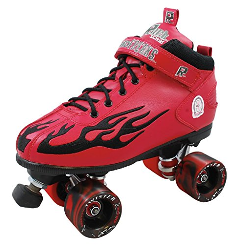 ROCK RED W/BLACK FLAME COMPLETE SIZE 10