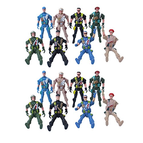 - Homyl 20-piece Plastic Army Playset Plastic Toy 9cm Soldier Army Men Figures Kids Toys