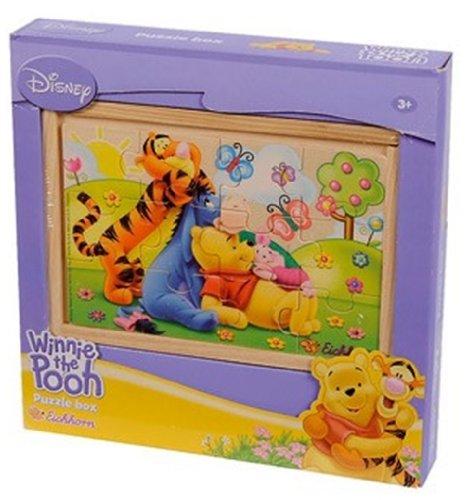 Eichhorn 100003356 Puzzle Box Winnie The Pooh 12 Pezzi