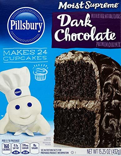 Pillsbury Moist Supreme Dark Chocolate Cake Mix 1525 Ounce