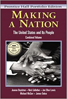 Book Making a Nation: The United States and Its People, Vols. 1 and 2, Concise Edition by Jeanne Boydston (2003-02-25)