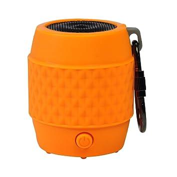 Amazon.com: Naranja portátil llavero altavoz inalámbrico Mb4 ...