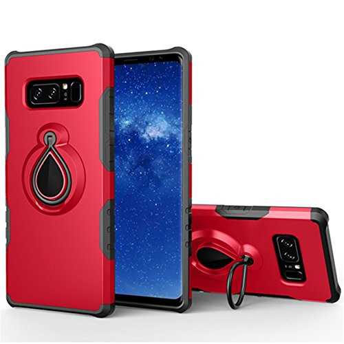 Anti-knock Shockproof Armor Case for Samsung Galaxy Note 5 Red - 2