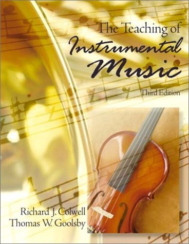 Teaching of Instrumental Music, The (3rd Edition)