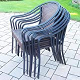 Cheap Oakland Living 6 Stackable Tuscany Chairs