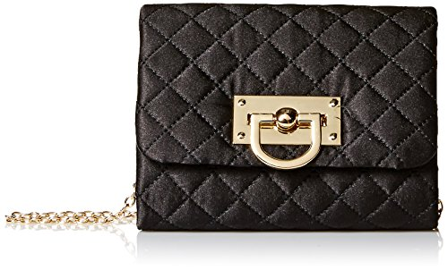 Quilted Shouldler Katie Bag Clutch McClintock Black Jessica awExqWvUI5