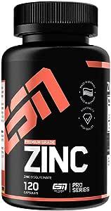 Esn Zinc, Standard, 120 capsules