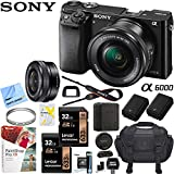 Best Compact Dslr Cameras - Sony Alpha a6000 24MP Interchangeable Lens Camera Black Review