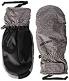 Burton Men's Insulated, Warm, and Waterproof Profile Under Mitten with Touchscreen, Monument Heather, Large