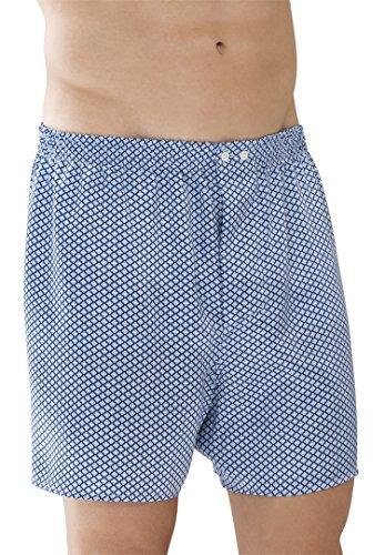 Zimmerli of Switzerland Blue Pattern Boxers XL