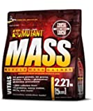 PVL Mutant Mass 2200 g Strawberry and Banana Weight Gain Shake Powder