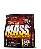 PVL Mutant Mass 2200 g Strawberry and Banana Weight Gain Shake Powder