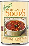 #10: Amy's Organic Soups, Chunky Vegetable, 14.3 Ounce