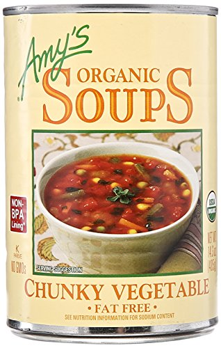 Fat Free Chunky Vegetable Soup by Amy's Kitchen, 14.3 oz