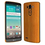 Skinomi TechSkin - LG G3 Screen Protector + Light Wood Full Body Skin Protector / Front & Back Premium HD Clear Film / Ultra Invisible and Anti-Bubble Crystal Shield