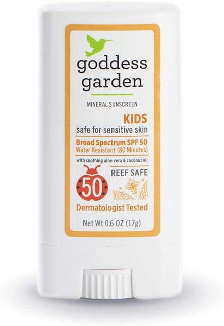 Goddess Garden - Kids SPF 50 Mineral Sunscreen Stick - Multi Pack - 2 Units