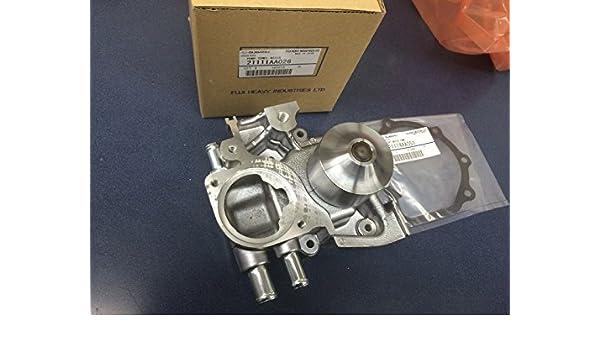 Genuine Hi flujo Turbo Bomba de agua para Subaru WRX Impreza Forester Sti Legacy EJ205 ej207 ej255 ej257 con junta: Amazon.es: Coche y moto