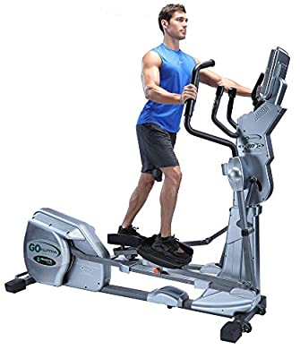 """GOELLIPTICAL LX-03 Light Commercial Motorized VST 19""""-25"""" Elliptical Exercise Cross Trainer Machine for Cardio Fitness Strength Conditioning Workout"""