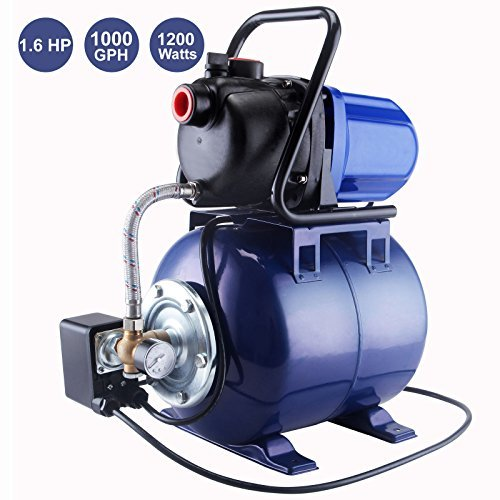 Booster Pump Systems - G&GOnline 1.6 HP 1