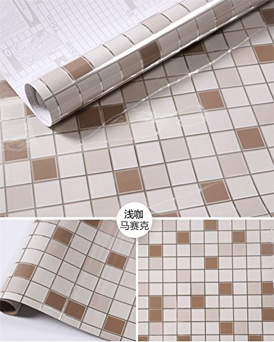 HL-imitazione adesivi per piastrelle cucina mosaico impermeabile ...