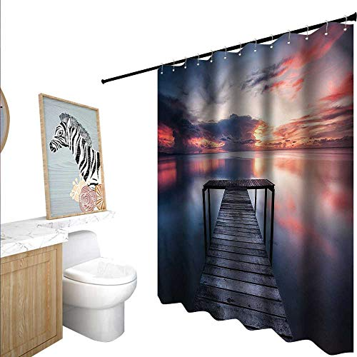 BlountDecor Seascape Shower Curtains 3D Digital Printing, used for sale  Delivered anywhere in USA
