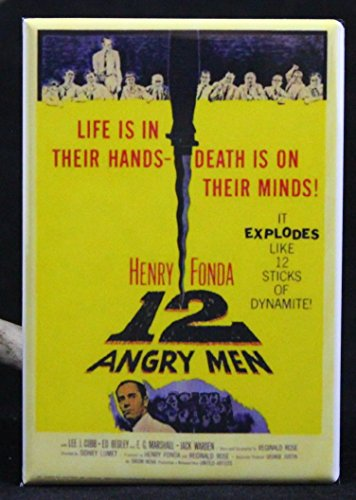 12 Angry Men Movie Poster Refrigerator Magnet.