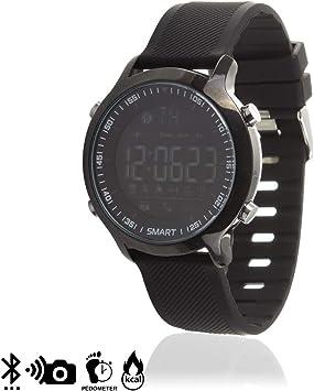 DAM TEKKIWEAR. DMX001BLACK. Sport Smartwatch Ex18 Digital Watch ...