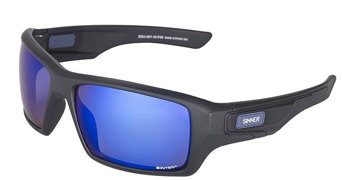 Sinner Gafas De Sol Sunburst Matte Negro-Sintec Smoke Azul ...