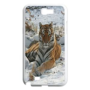 [H-DIY CASE] For Samsung Galaxy Note 2 -Powerful Tiger Pattern-CASE-2