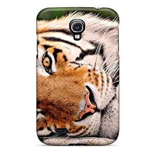 Durable Protector Case Cover With Tiger Hot Design For Galaxy S4